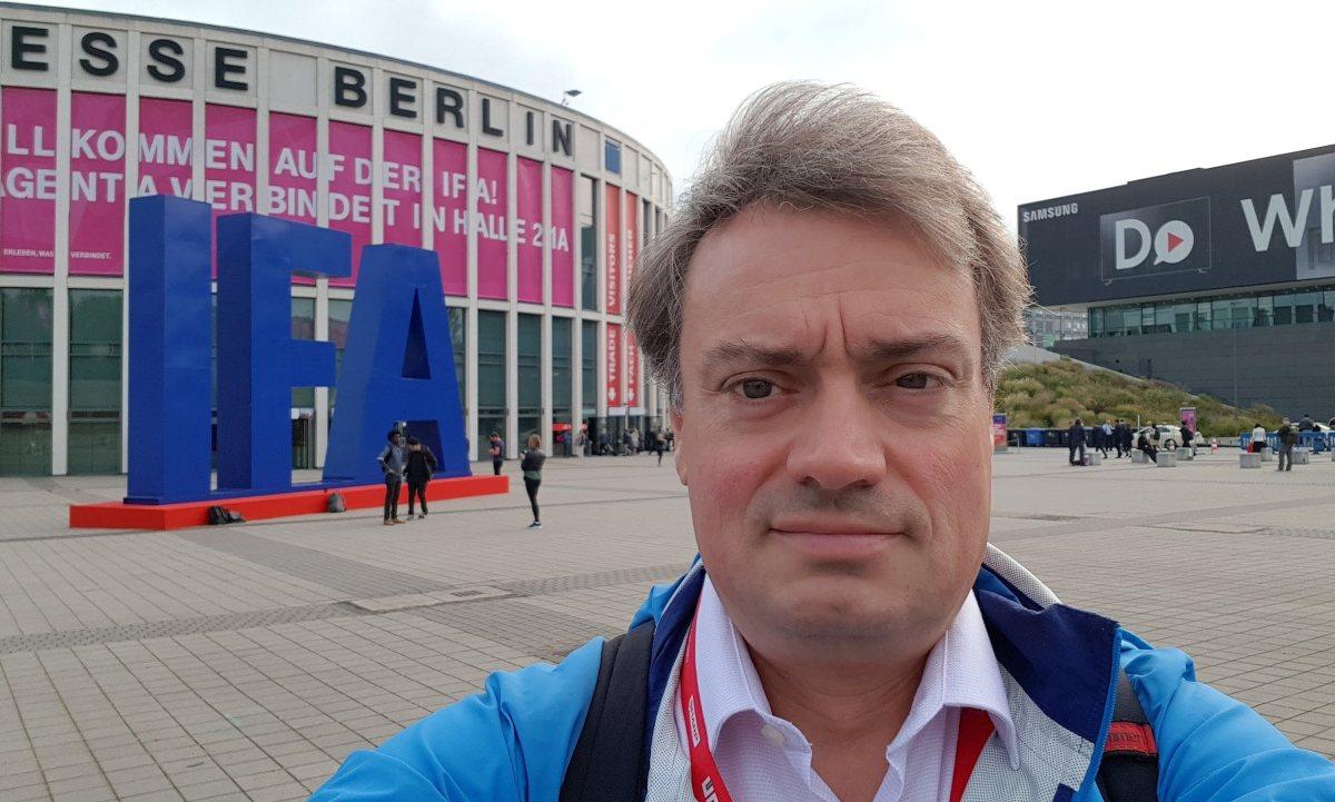 Xavier Studer, auteur et fondateur du «Blog high-tech et telecom» à l'IFA de Berlin.