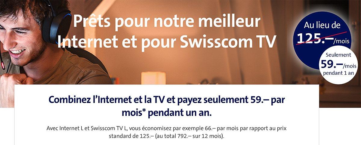 Une version signée Swisscom.