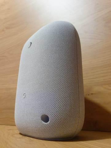 Le nouveau Nest Audio de Google.