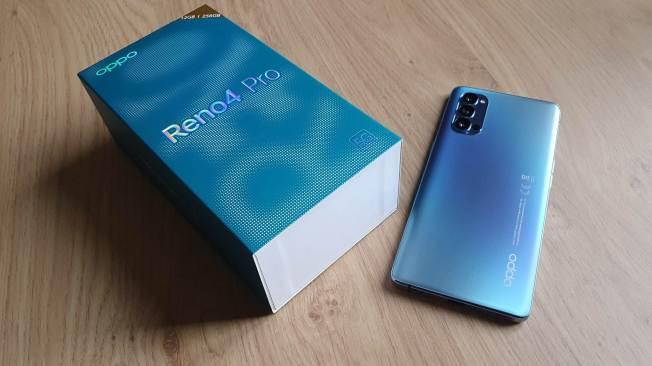 Oppo Reno 4 Pro 5G: un design au sommet.