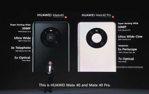 Huawei lance ses séries Mate40 et huit nouveaux produits!