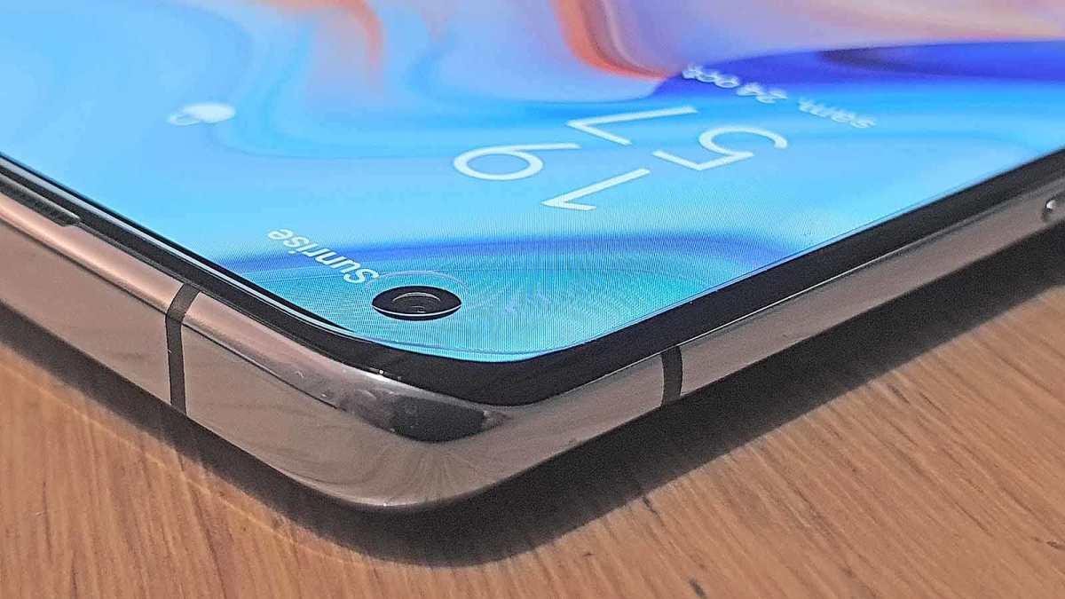 Le bel écran OLED de l'Oppo Reno 4 5G.