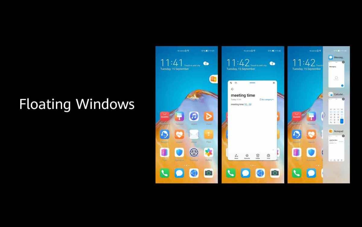 Huawei proposera EMUI 11 sur 14 smartphones.