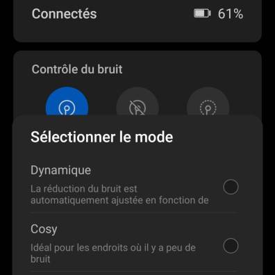 L'interface de Huawei AI Life.