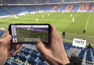 Sunrise révolutionne le foot avec la 5G, le Wi-Fi6 et son CamCheck!