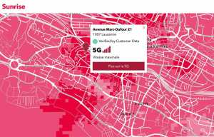 Télécoms: la 5G se généralise un peu partout en Suisse sur tous les réseaux!