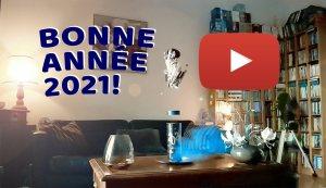 Vidéo: bonne année2021 à 7680images par seconde avec le HuaweiP40 Pro+…