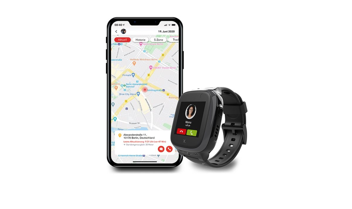 La smartwatch Xplora X5 Play eSIM vendue par Sunrise.