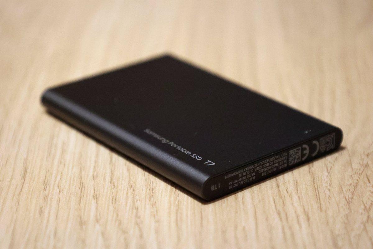 Le SSD externe Samsung T7.