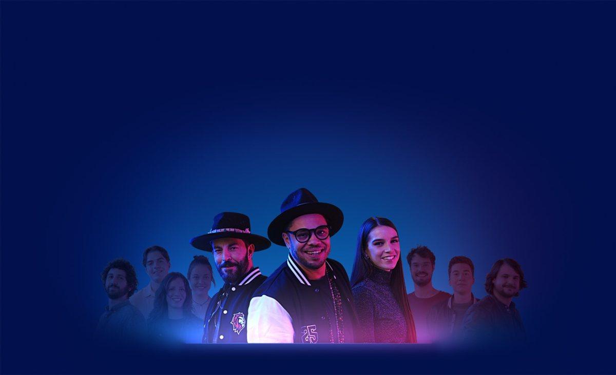 BLAY, Flavie Léa et Swisscom unis pour un concert «décentralisé».