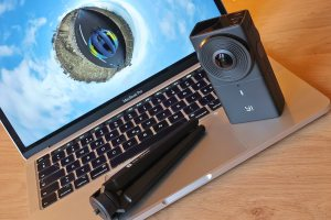 High-tech: le test de la vidéo VR éco avec la Yi 360 4K