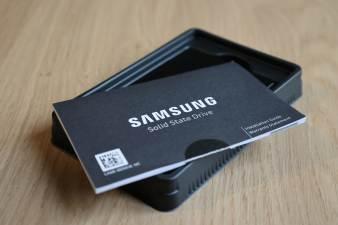Samsung SSD 870 EVO: garantie de 5 ans.