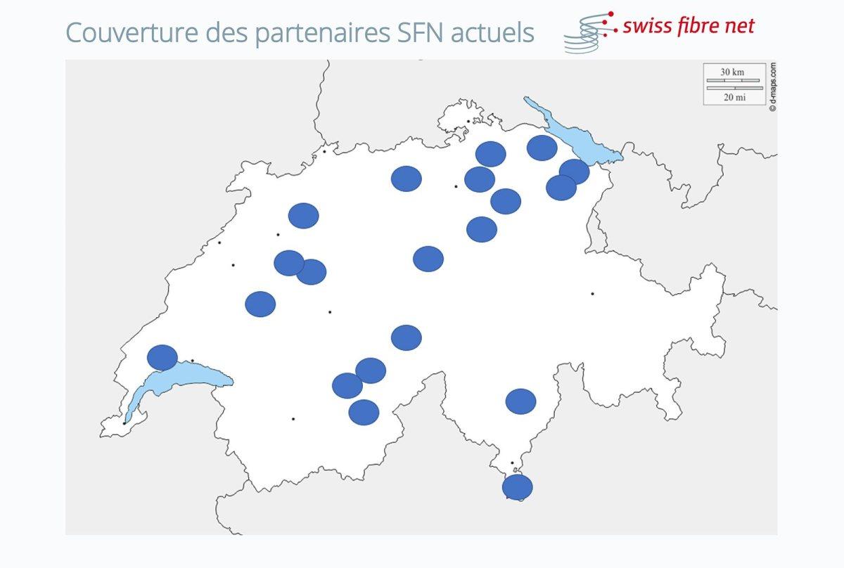 La couverture de Swiss Fibre Net.