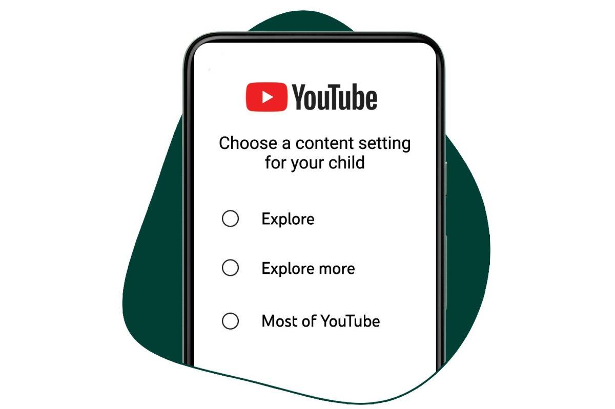 YouTube pour enfants: trois niveaux.