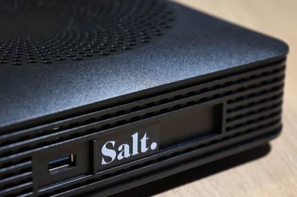 Salt Fibre box X6, Wi-Fi 6.