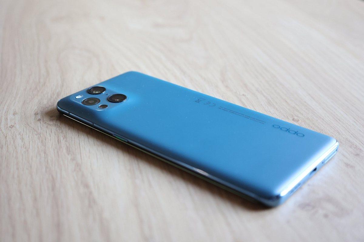 Le très svelte Oppo Find X3 Pro 5G.