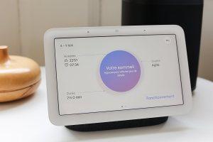 Le radar du Google NestHub2 pour suivre son sommeil: l'ombre d'un doute