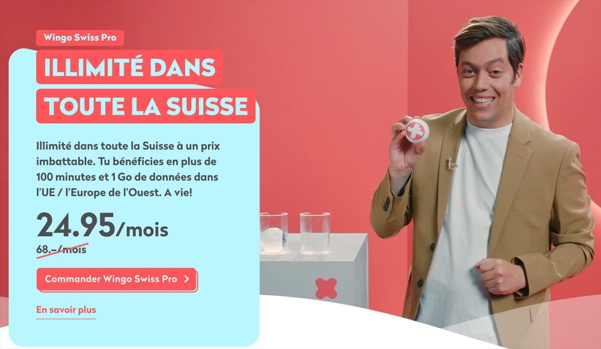 Wingo Swiss Pro en promo.
