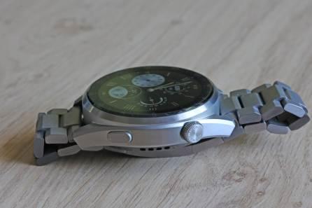 Huawei Watch 3 Pro: couronne rotative.