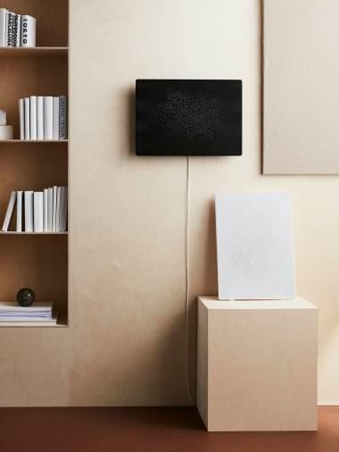 Ikea SYMFONISK: en noir ou blanc.