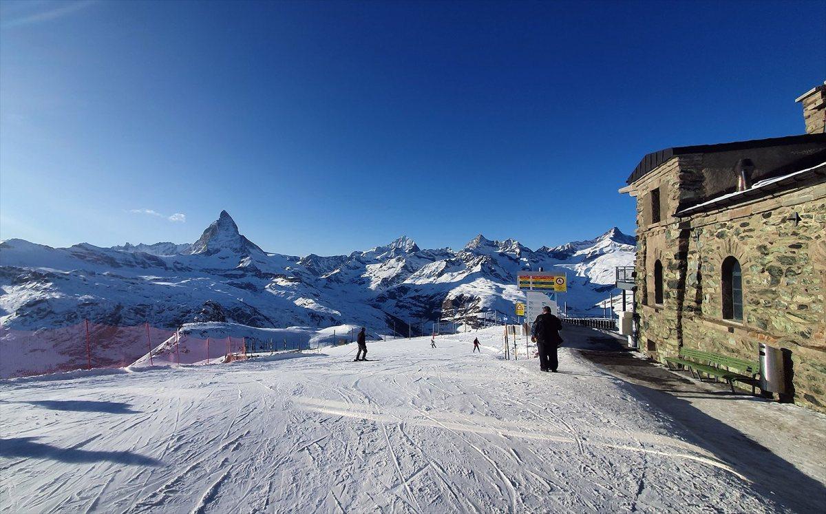 Nada como esquiar con familiares o amigos.
