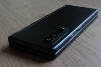 Samsung Galaxy Z Fold 3: l'optique.