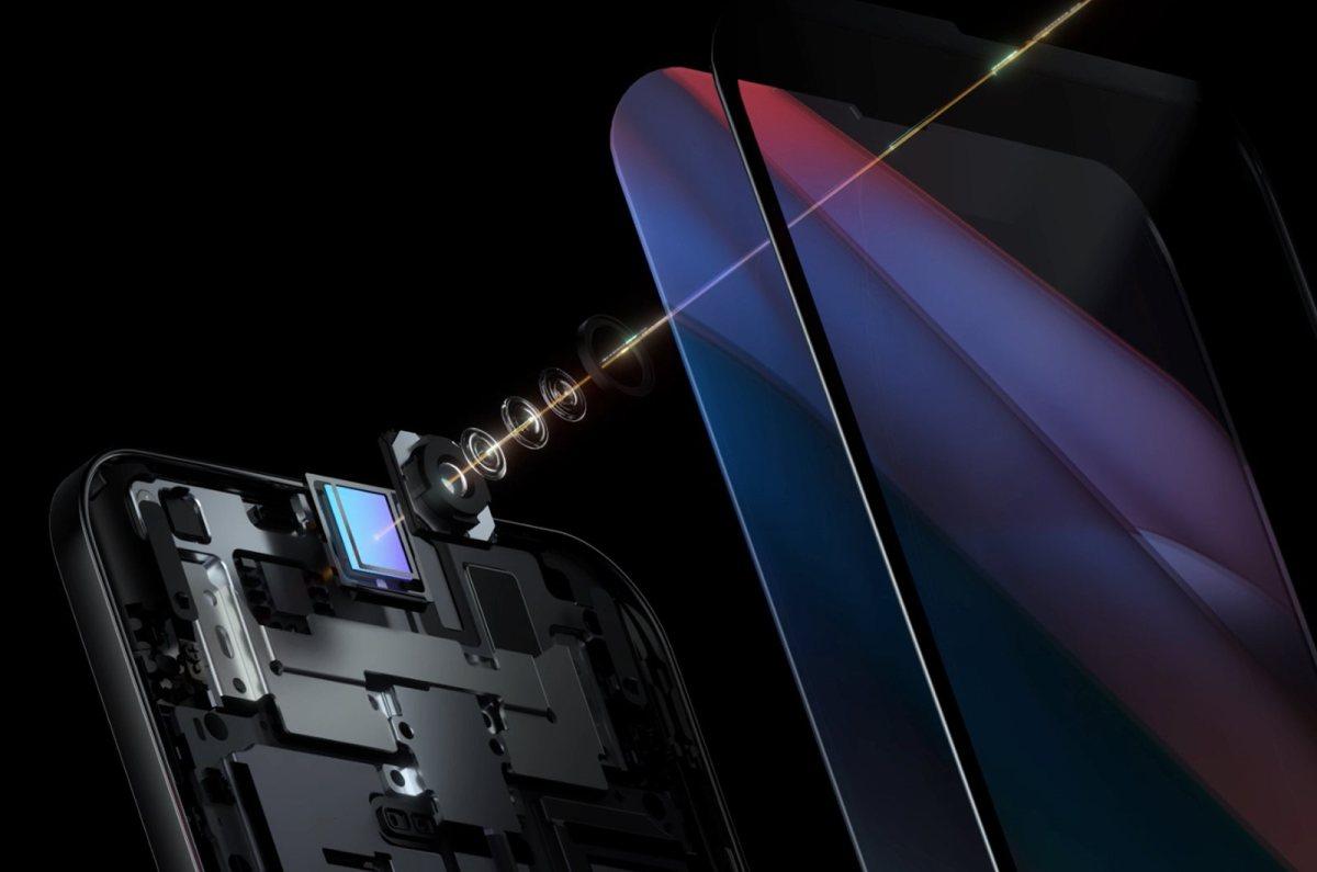 Caméra sous écran: le concept d'Oppo.