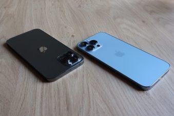 iPhone 13 Pro Max, vs iPhone 12 Pro Max.