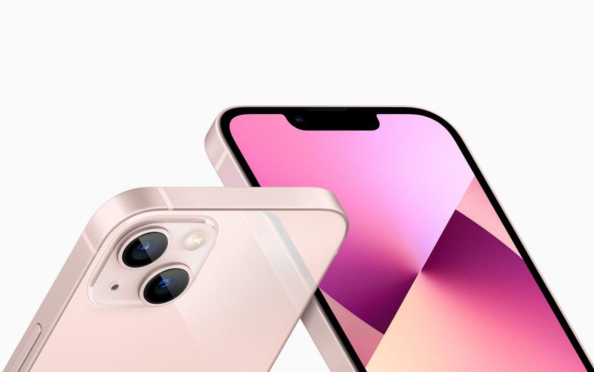 Le magnifique design de l'iPhone 13!