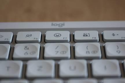 Logitech MX Keys Mini: pour les émojis!