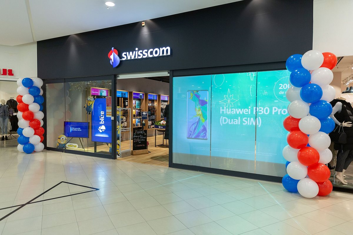 Swisscom Shop Bern Zytglogge.