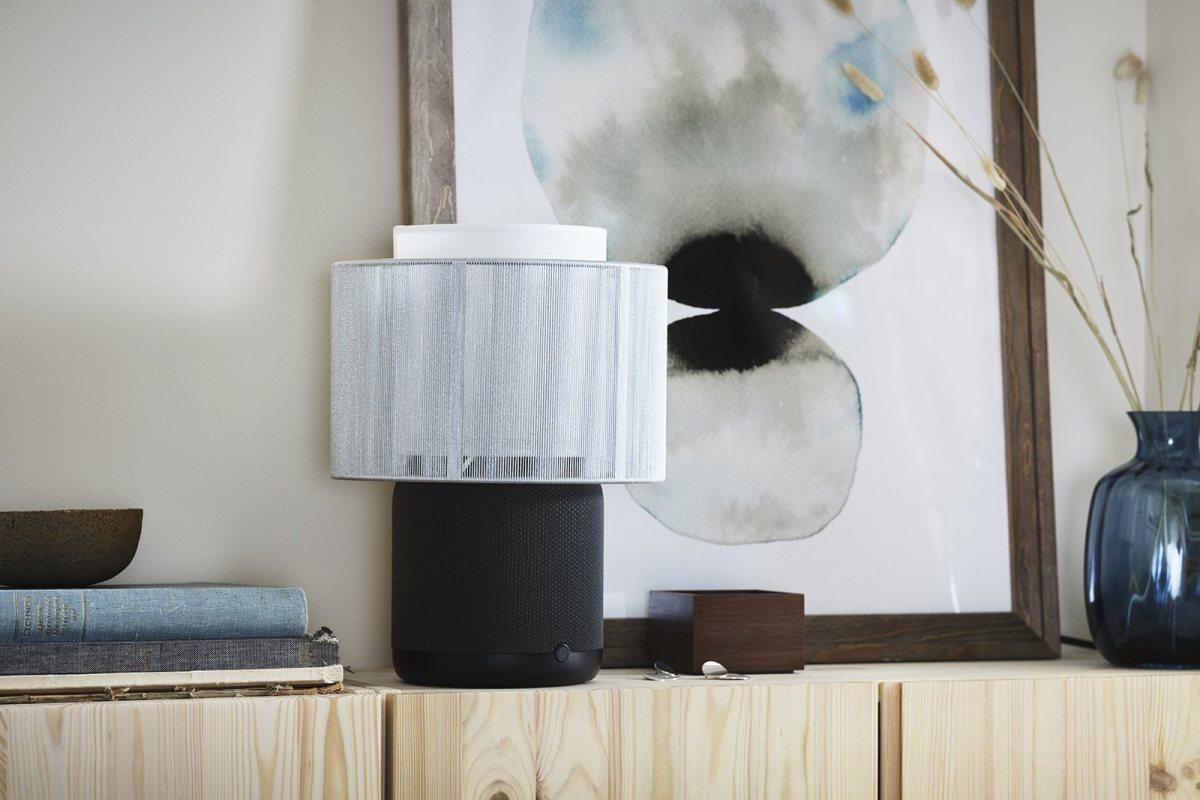 La nouvelle lampe et enceinte Ikea Symfonisk par Sonos.