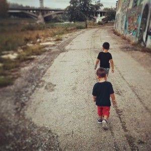 De paseo - Aprender de tus hijos - xavigaya.com
