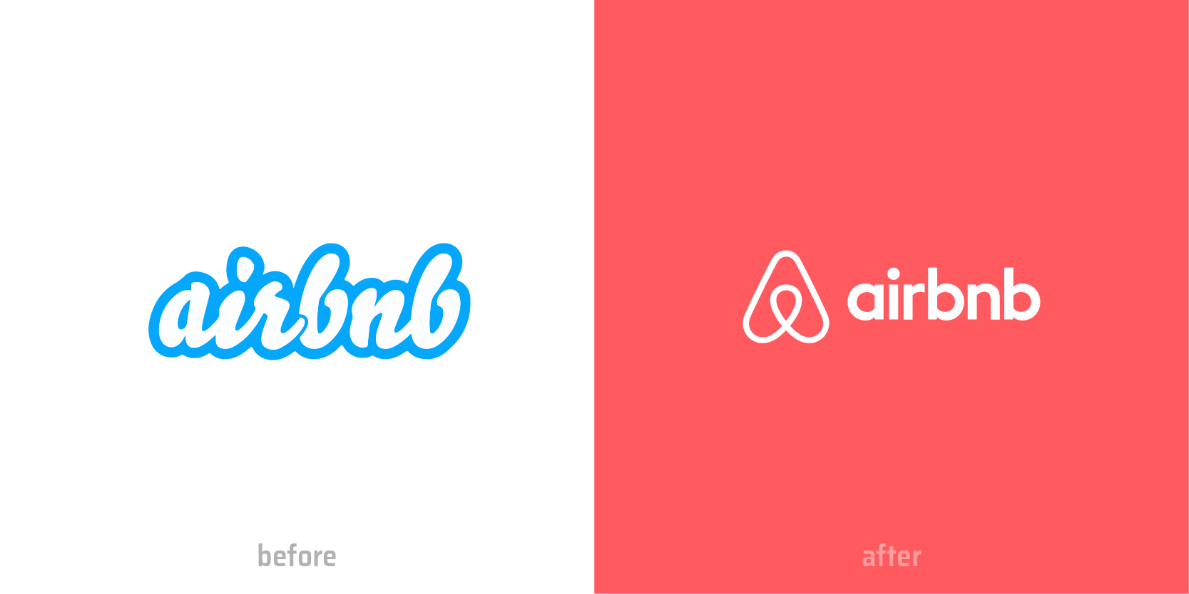 XAXs blog AirBnB logo comparision