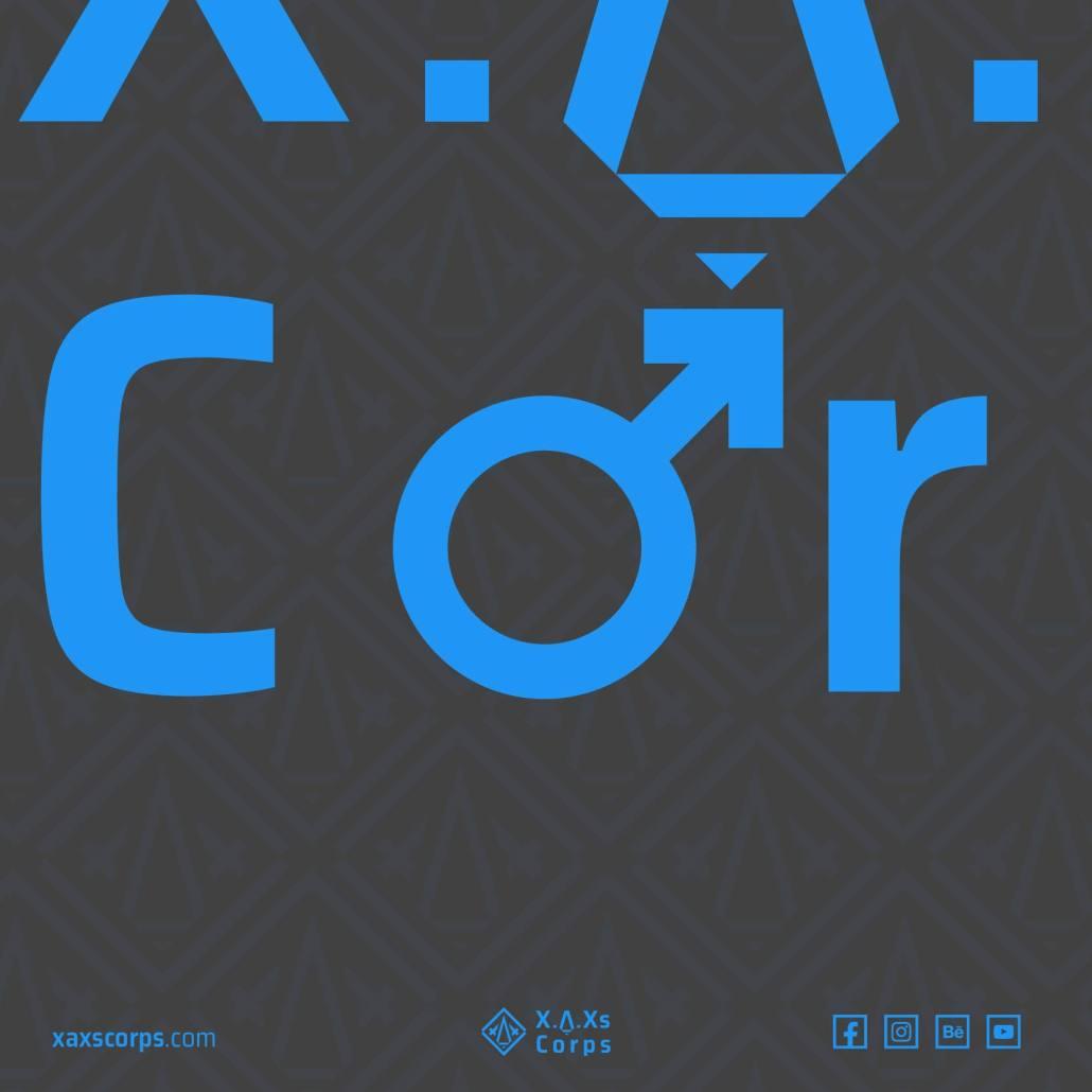 XAXs men 2019 minimal poster