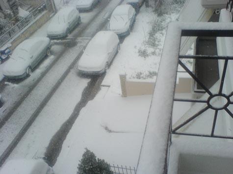 Χιόνια στην Πετρούπολη