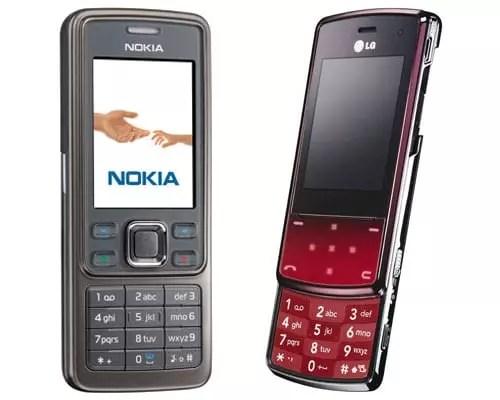 Nokia 6300i - LG KF510