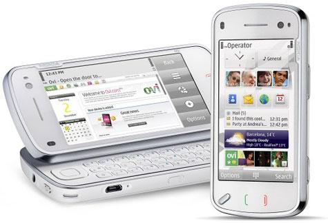Nokia N97 Touchscreen