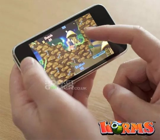 Worms iPhone