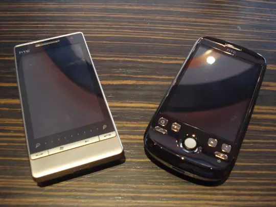 HTC Diamond 2 vs HTC Magic