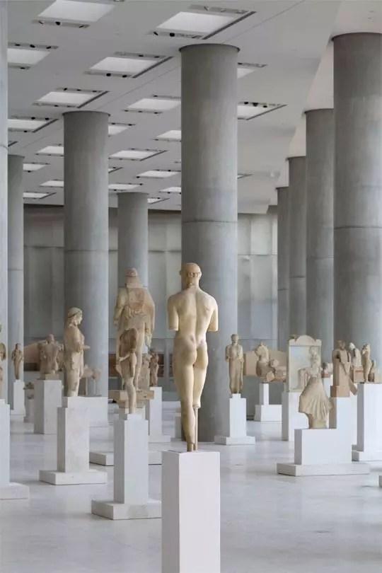Όψη της Αρχαϊκής Αίθουσας - Credit Νίκος Δανιηλίδης