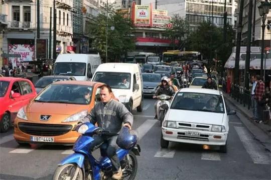 Κίνηση στην Αθήνα