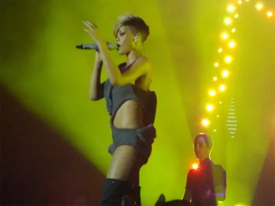 Rihanna in Athens