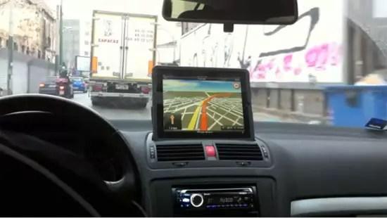 iPad GPS Navigator