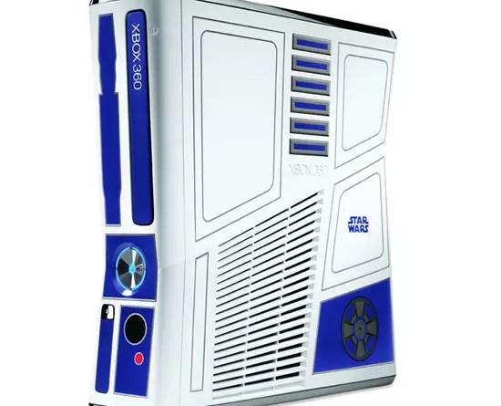 Κυανόλευκη R2-D2 κονσόλα Xbox 360