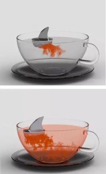 Καρχαρίας για ανακάτεμα τσαγιού