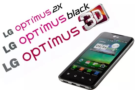LG Optimus, Αναβαθμίζονται σε Android 2.3 Gingerbread