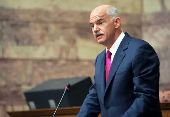 Γιώργος Παπανδρέου: Λείπει αλλά στη Βουλή ψηφίζει!