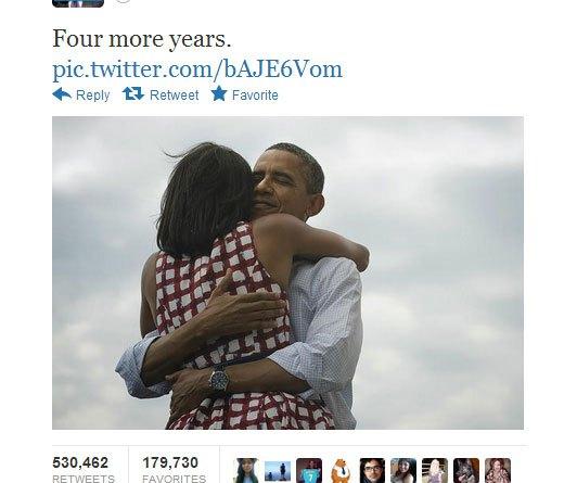 Tweet Barack Obama