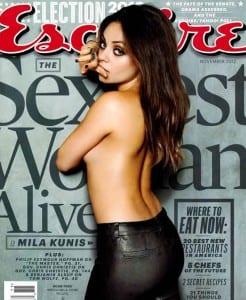 Mila Kunis – Esquire